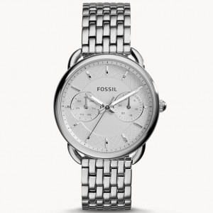 Đồng Hồ Fossil Nữ Tailor Multifunction Stainless Steel Watch ES3712 35mm
