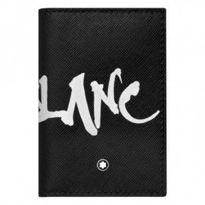 Ví Đựng Thẻ Montblanc Sartorial Calligraphy Bussiness Card Holder 124140 7,5x11cm