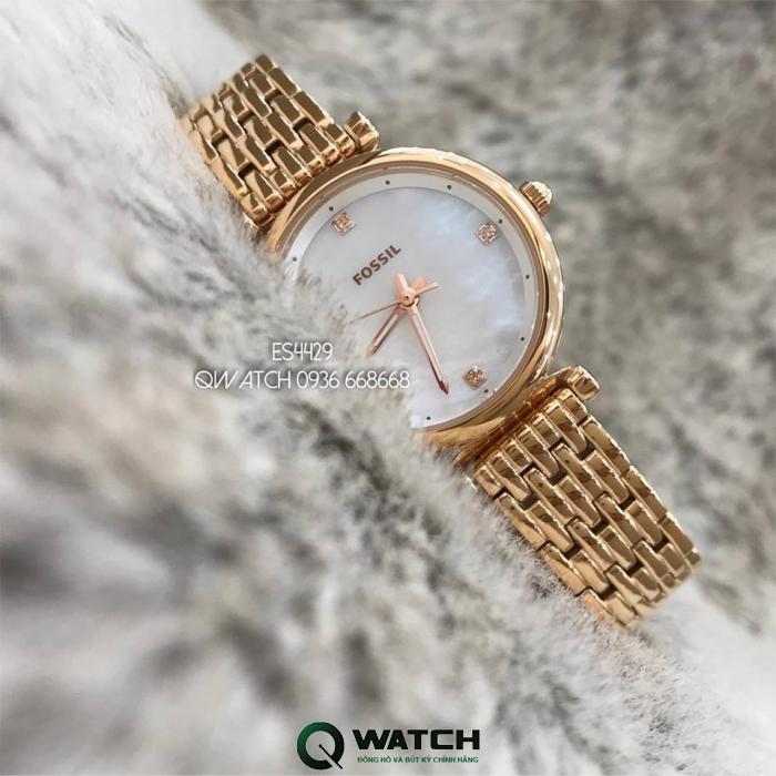 Đồng hồ Fossil Nữ Carlie ES4429 29mm Có Tốt Không?