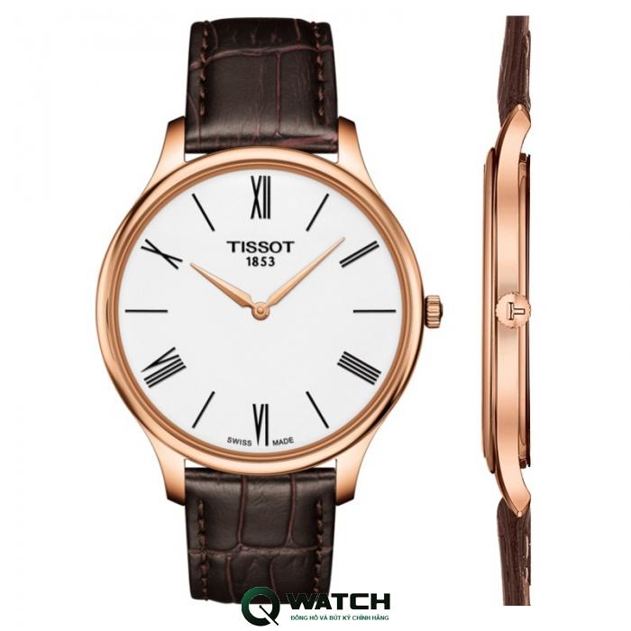 Đồng hồ Tissot Nam Tradition Thin 5.2mm T063.409.36.018.00 39mm