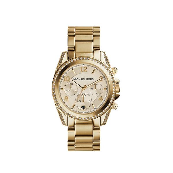 Dây đồng hồ làm từ thép không gỉ mạ vàng