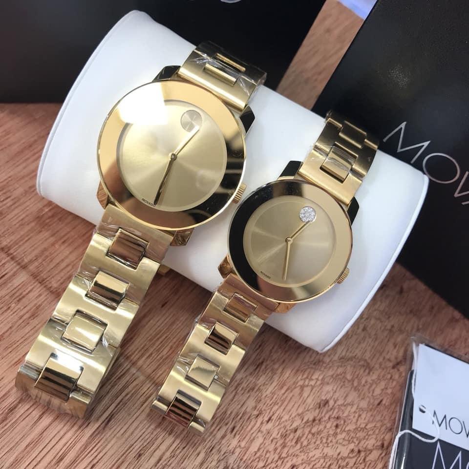 Cặp đồng hồ Movado Quartz