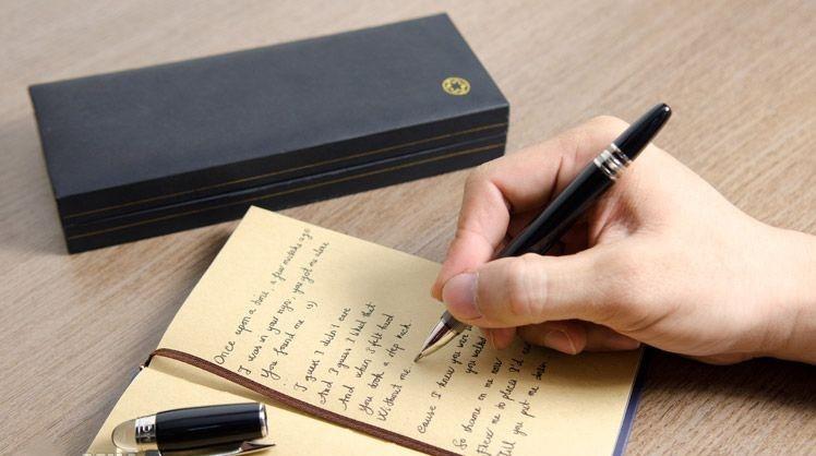 bút ký cao cấp montblanc có nét viết đẹp