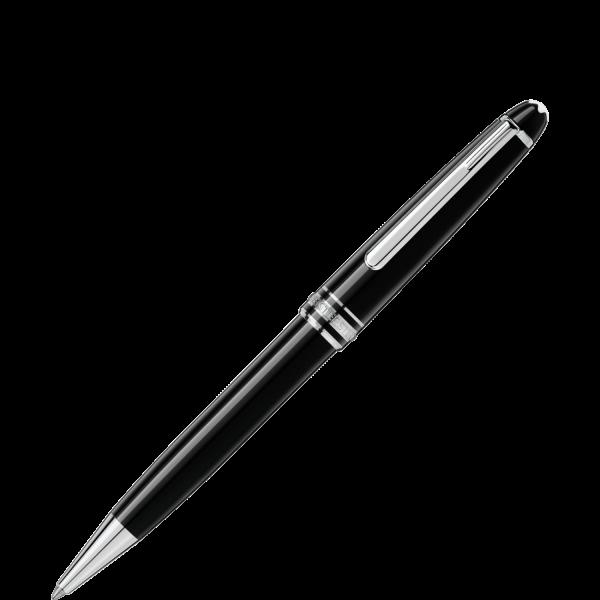 Sản phẩm bút bi Montblanc Meisterstuck platinum-coated classique với chất nhựa resin đen sang trọng