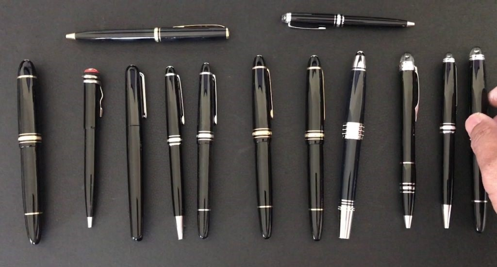 Thương hiệu bút Montblanc cao cấp, nổi tiếng trên khắp thế giới suốt nhiều năm qua