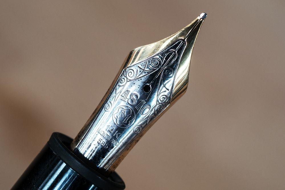 Ngòi bút được chế tác hết sức tỉ mỉ bởi máy móc hiện đại bậc nhất