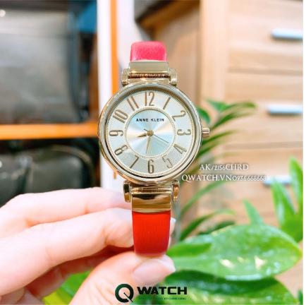 Là phái nữ cần phải sắm ngay một chiếc đồng hồ thuộc thương hiệu Anne Klein