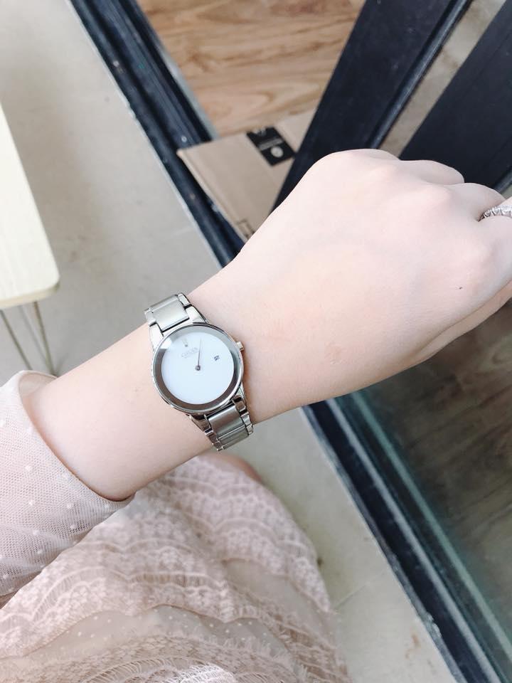 Đồng hồ Citizen Nữ Eco-Drive GA1050-51A 30mm là mẫu đồng hồ dành cho nữ với thiết kế sang trọng, tinh tế với mặt kính chịu lực tối