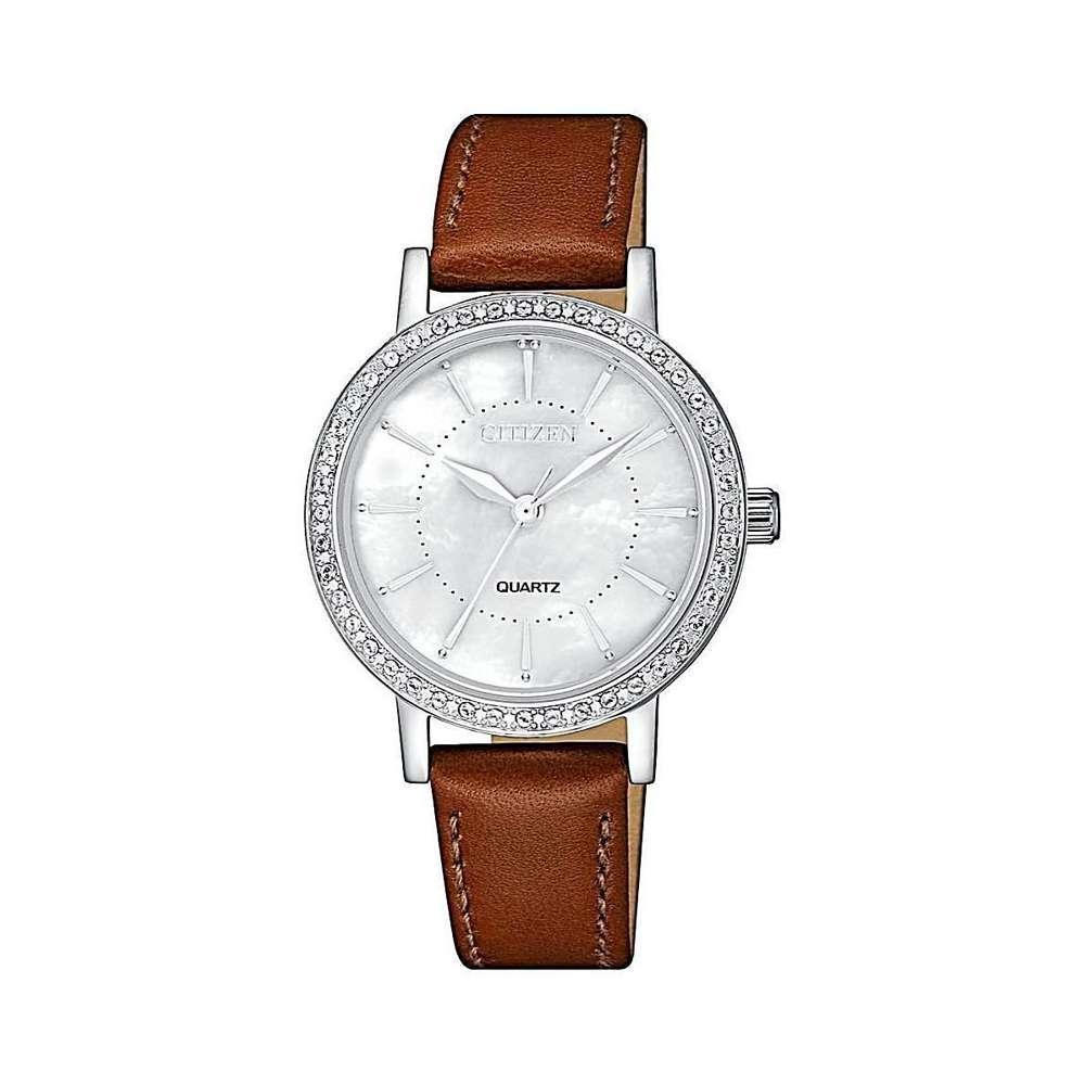 Mẫu Đồng hồ Citizen nữ dây da xinh đẹp nhiều người mơ ước