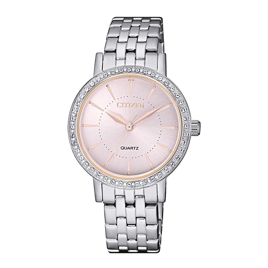 Đây là Chiếc đồng hồ có màu sắc phối hợp nữ tính bạn nữ ưa chuộng