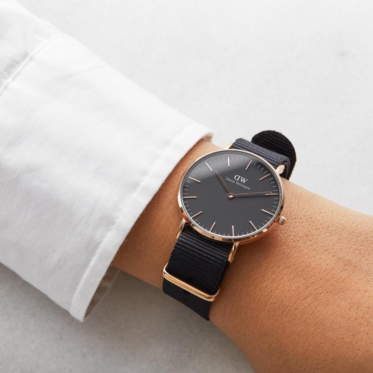 Chiếc đồng hồ với đường nét thiết kế vô cùng tinh tế