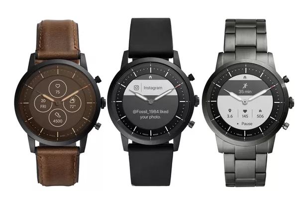 Những mẫu đồng hồ Fossil Hybrid HR