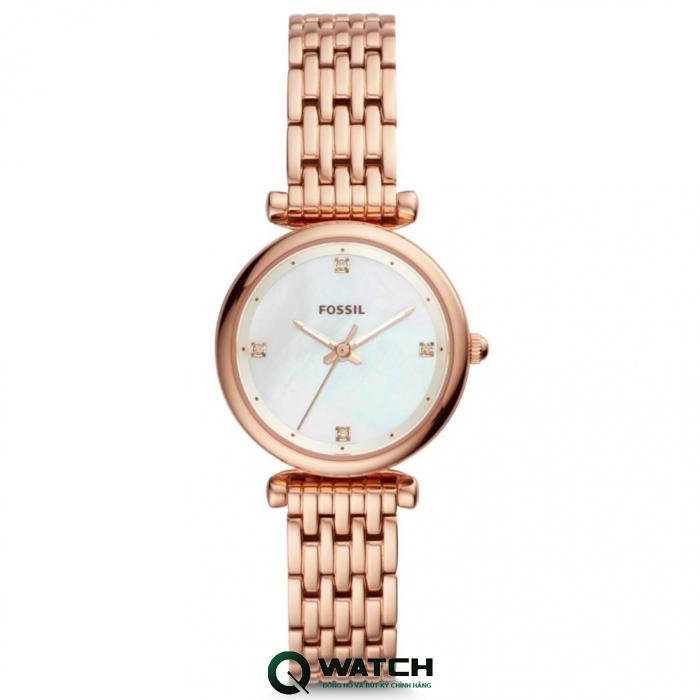 Đồng hồ Fossil nữ luôn có thiết kế thanh mảnh và nữ tính