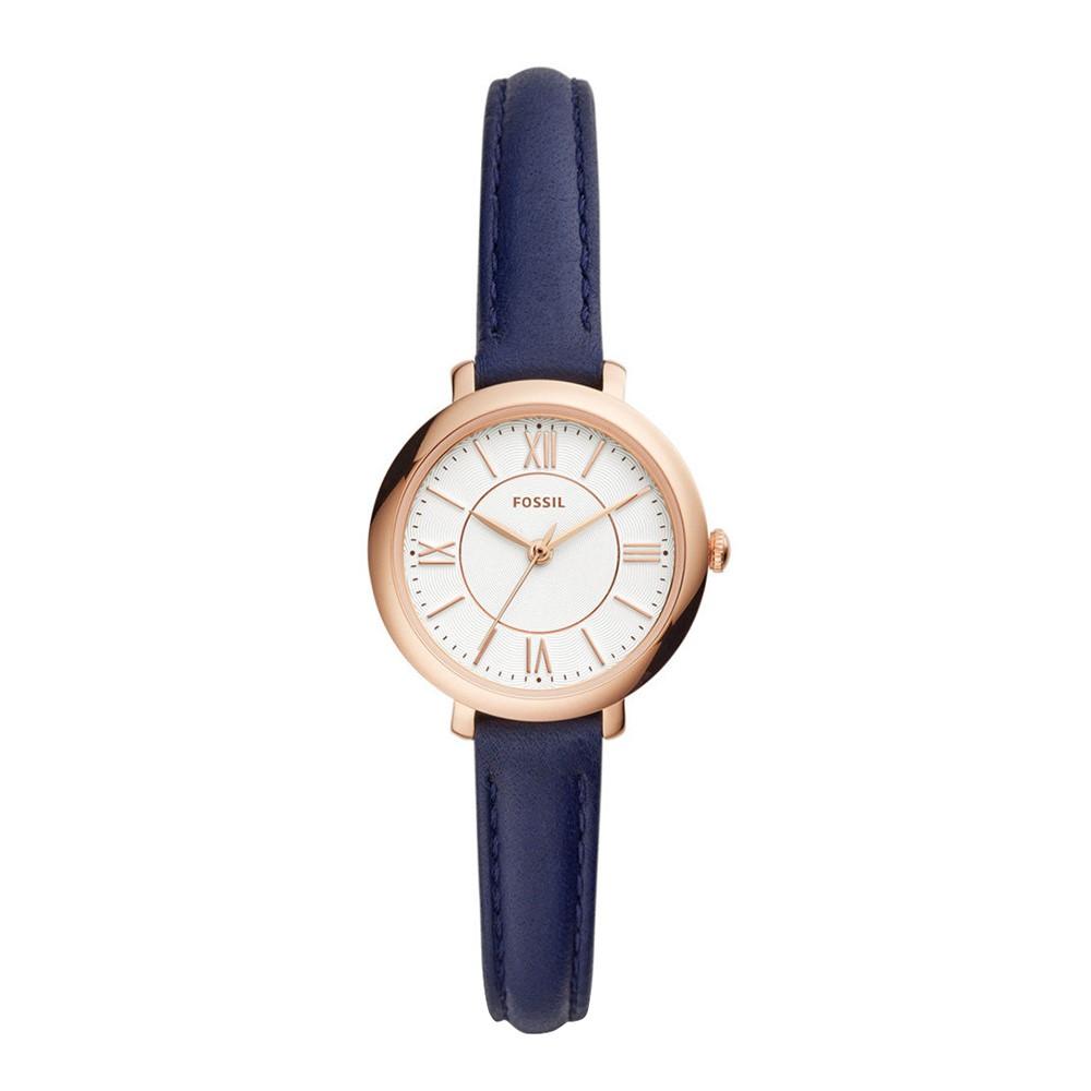 Đồng hồ Fossil nữ mặt tròn dây da ES4410