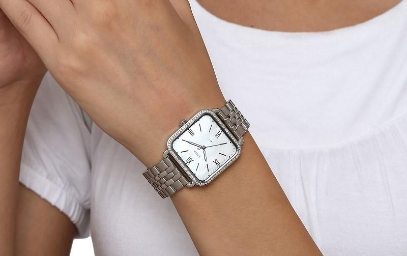 Đồng hồ Fossil nữ mặt vuông ES4268