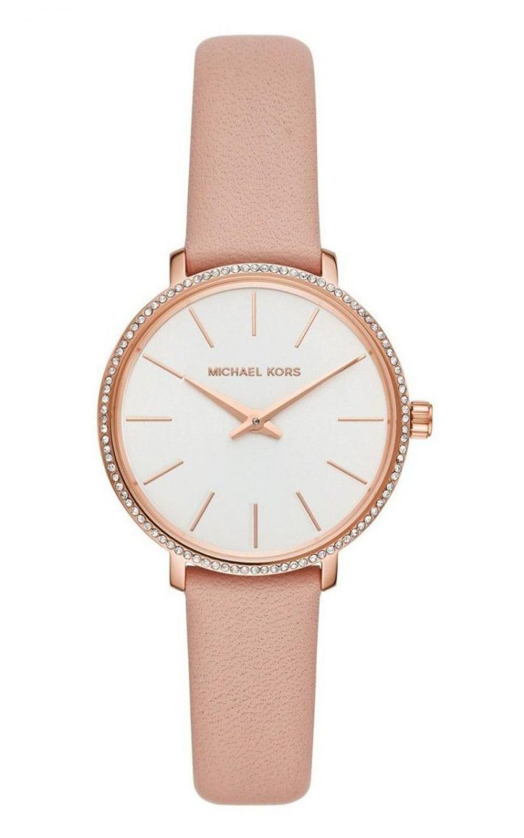 Đồng hồ Michael Kors nữ dây da có thiết kế trang nhã