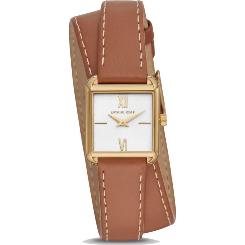 Đồng hồ Michael Kors dây da với những đường nét tinh xảo