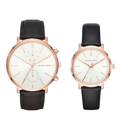 """Đồng hồ Michael Kors dây da cặp """"yêu ngay từ cái nhìn đầu tiên"""