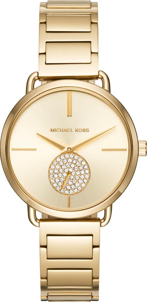 Đồng hồ michael kors portia với mặt đồng hồ phụ đính đá