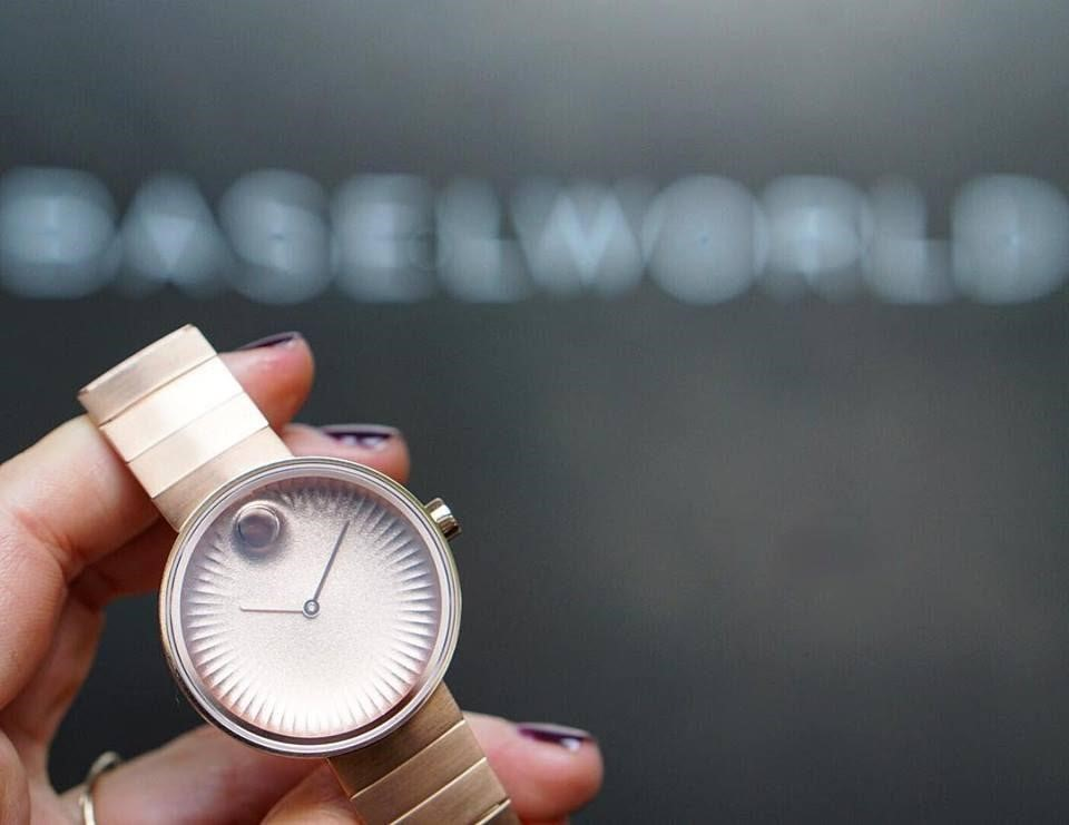 Đồng hồ nữ Movado Edge thanh lịch