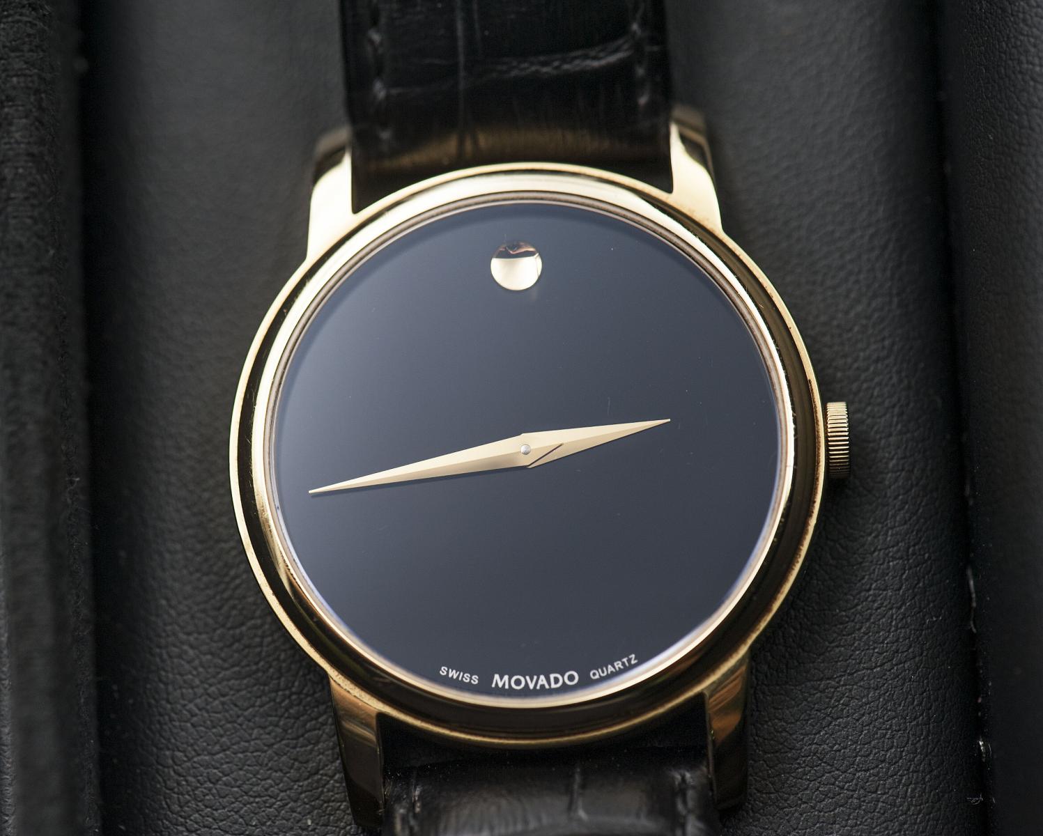 Giá đồng hồ quartz của Movado