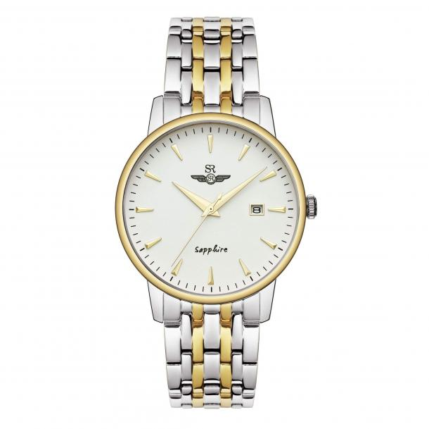 Đồng hồ Srwatch SG1072.1202 TE là sự độc đáo trong thiết kế dây kim loại