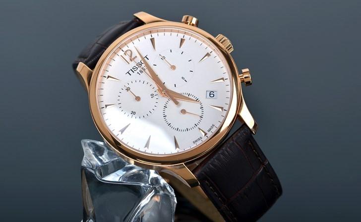 Đồng hồ Tissot 6 kim chính hãng mang đến độ chính xác gần như tuyệt đối chỉ sai lệch 0.05s/ngày