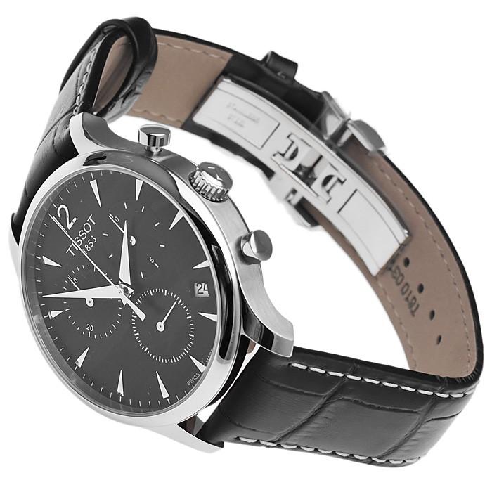 Đồng hồ Tissot 6 kim dây da có mức giá từ 9.000.000 - 10.000.000 đồng
