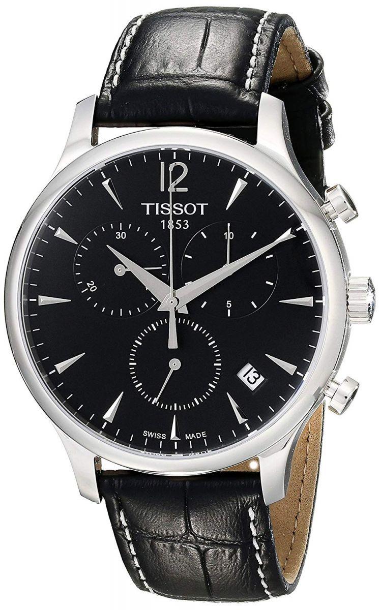 Đồng hồ Tissot Nam Tradition Chrono T063.617.16.057.00 42mm với thiết kế cá tính, mạnh mẽ dành cho phái mạnh