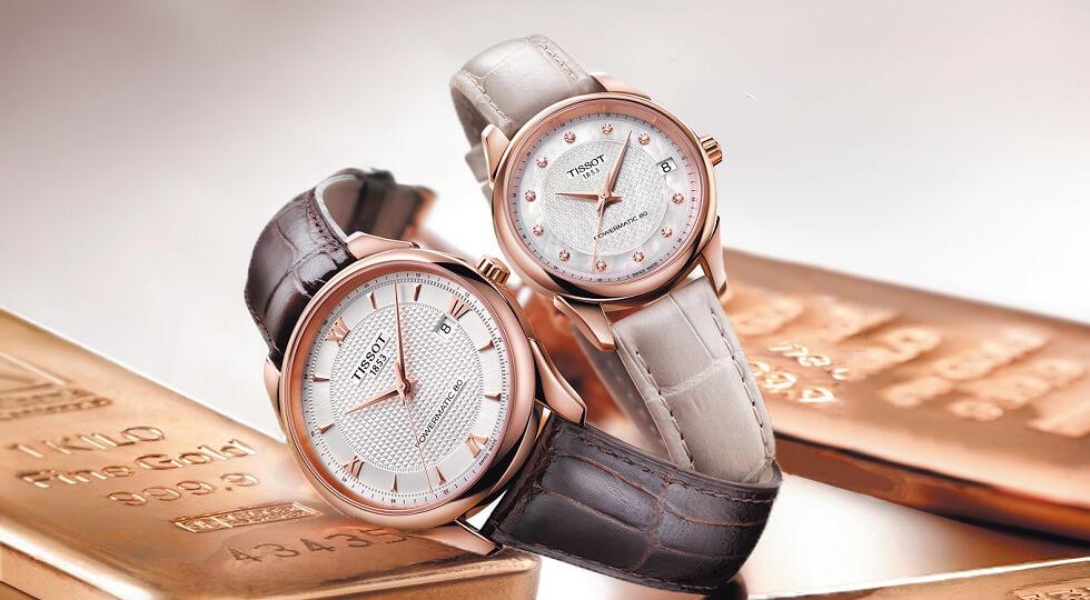 Đồng hồ Tissot được thiết kế với kiểu dáng sang trọng, lịch lãm
