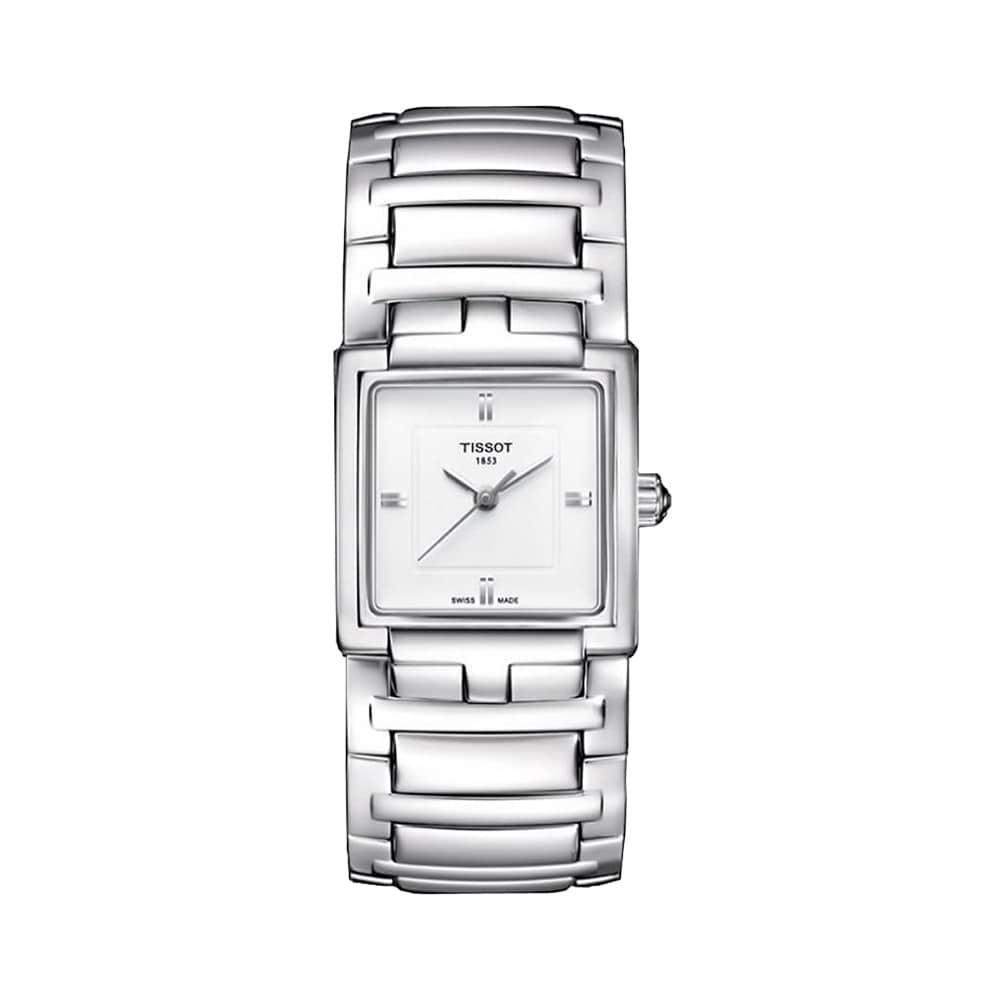 Đồng hồ Tissot nữ mặt vuông cổ điển
