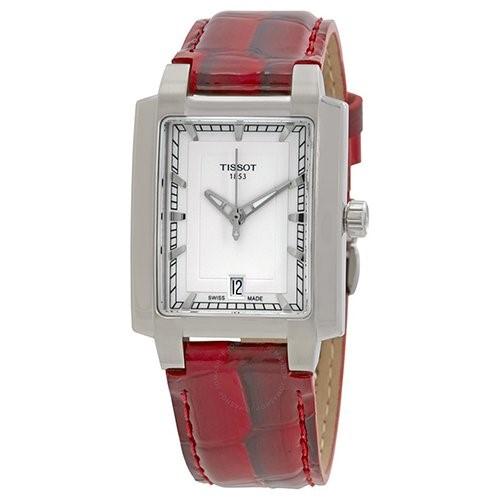 Đồng hồ Tissot mặt chữ nhật góc cạnh mà phóng khoáng