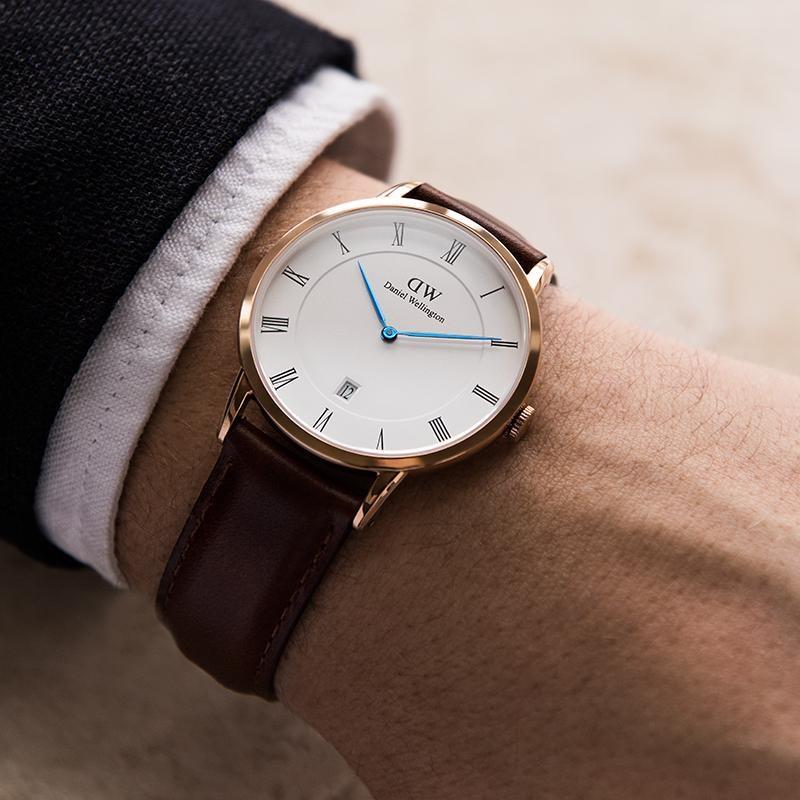 Mua đồng hồ Daniel Wellington chính hãng sẽ có độ dày đạt 6 đến 7mm