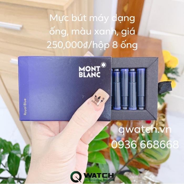 MỰC BÚT MÁY MONTBLANC WRITING INK 60ML MÀU XANH (ROYAL BLUE) có mặt tại Qwatch với giá 600.000 VNĐ