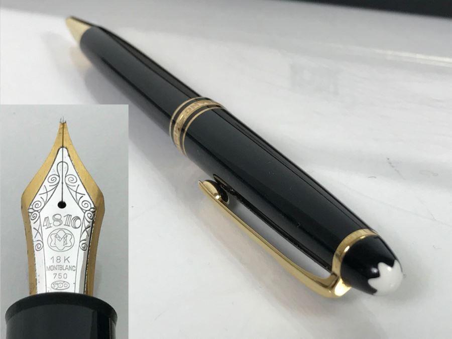 """Chiếc bút Montblanc Meisterstuck """"No 149"""" biểu tượng cho di sản văn hóa bút viết nâng tầm thương hiệu sản xuất"""