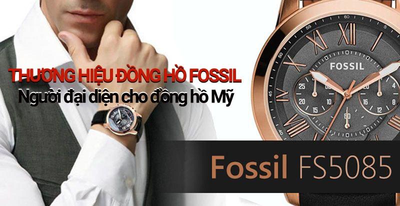 Đồng hồ Fossil - thương hiệu tới từ Mỹ